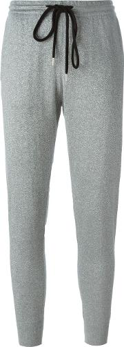Tapered Track Pants Women Cottonmetal Other M, Grey