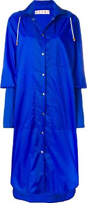 Long Extended Cuff Raincoat