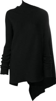 Asymmetric Ribbed Jumper