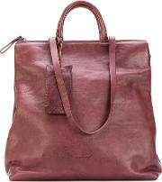 Multiple Straps Shoulder Bag Women Leather One Size, Brown