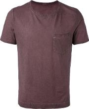 Pocketed T Shirt Men Cotton Xl, Red