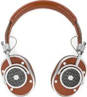 Mh40 Over Ear Headphones Unisex Leathermetal One Size, Brown