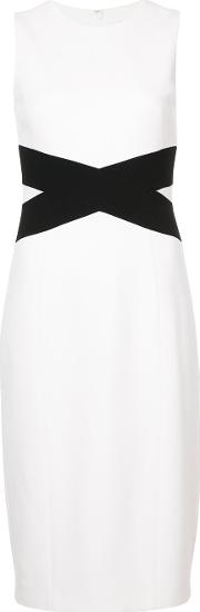 Crossover Detail Pencil Dress