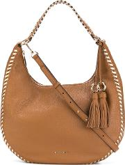 'lauryn' Hobo Bag Women Leather One Size, Brown