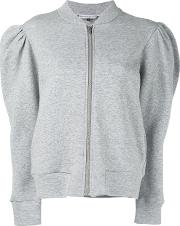 Zipped Cardigan Women Cottoncashmere Xs, Grey