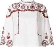 Edison Embroidered Blouse