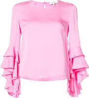 Frill Bell Cuff Blouse