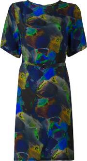 'ebone' Dress Women Silk 34