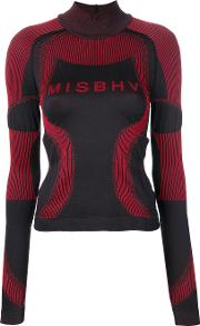 Misbhv Logo Sweater Women Polyamidepolypropylenespandexelastane L, Black