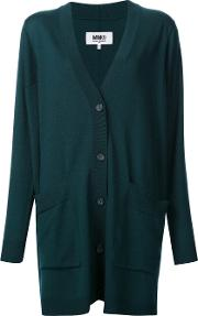 Oversized Cardigan Women Wool M, Women's, Green