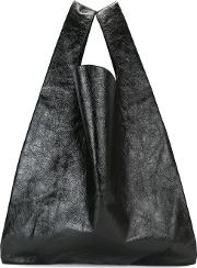 Shopping Tote Women Polyesterpolyamide One Size, Black