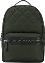 George Backpack Men Leatherpolyamidepolyester One Size, Green