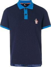 Logo Patch Polo Top