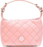 Quilted Tote Women Leather One Size, Women's, Pinkpurple