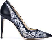 'fatima' Pumps Women Leathernappa Leatherpolyester 39, Women's, Blue