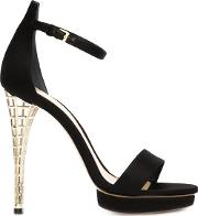 'marielle' Sandals Women Silkleather 38, Black