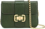 Small 'bianca' Shoulder Bag Women Nappa Leather One Size, Women's, Green