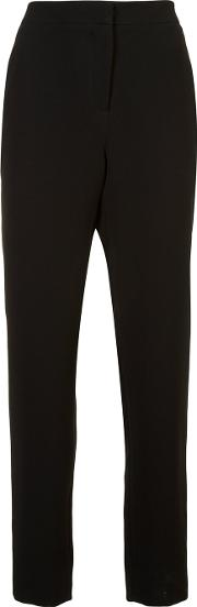 Tailored Trousers Women Silkpolyester 6, Black