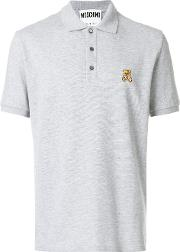Embroidered Teddy Polo Shirt