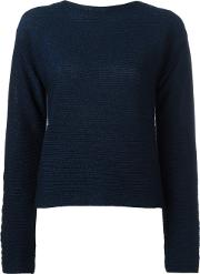 Cropped Jumper Women Cottonpolyesterviscose 38, Women's, Blue