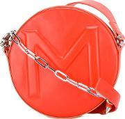 Round Crossbody Bag Women Leather One Size