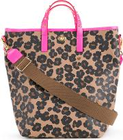 Floral Print Tote Women Polyester