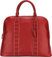 Medium 'tennessee' Tote Women Calf Leather One Size, Red