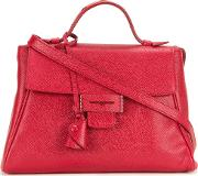 Mini 'byron' Tote Women Calf Leather One Size, Red