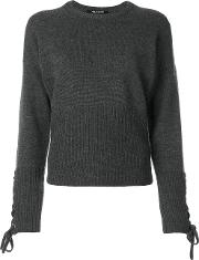 Laced Sleeve Jumper