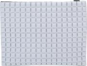 No Ka' Oi Textured Zipped Clutch Women Polyamidespandexelastane One Size, Grey