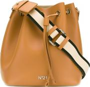 No21 Bucket Style Shoulder Bag Women Leather One Size, Brown