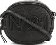 No21 Round Crossbody Bag Women Leather One Size, Black