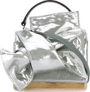 Tote Women Patent Leather One Size, Women's, Grey