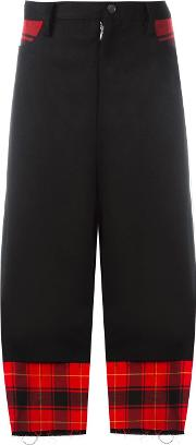 Check Trousers Women Cottonpolyurethanecuprowool S