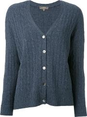 N.peal Oversize Box Cable Cardigan Women Cashmere S, Women's, Blue