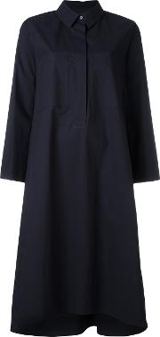 Shirt Dress Women Cotton 36, Women's, Blue