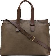 Arman Tote Women Calf Leather One Size, Brown