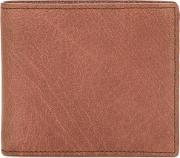 Boudin Bi Fold Wallet Men Buffalo Leather One Size, Nudeneutrals