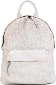 Mini Backpack Unisex Calf Leather One Size, Nudeneutrals