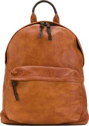 Oc Backpack Unisex Horse Leather One Size, Brown