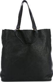 Seura Tote Women Horse Leather One Size, Black