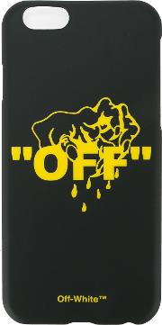 Off White Hands Off Iphone 6 Case Unisex Plastic One Size, Black