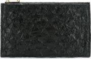 Leather Wallet Women Fisher One Size, Black