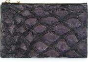 Leather Wallet Women Fisher One Size, Pinkpurple