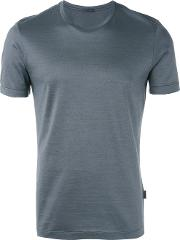 Fitted T Shirt Men Cotton Xl, Grey