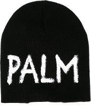 Knitted Cap Men Acrylic One Size, Black