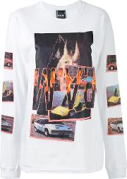 Witch Car T Shirt Women Cotton M, White