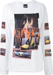 Witch Car T Shirt Women Cotton S, White
