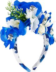 Floral Headband Kids Cottonmetal Other One Size, Blue