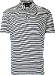 Striped Polo Shirt Men Cotton Xl, White